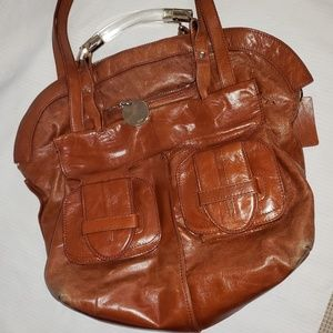Chloe Brown leather shoulder bag